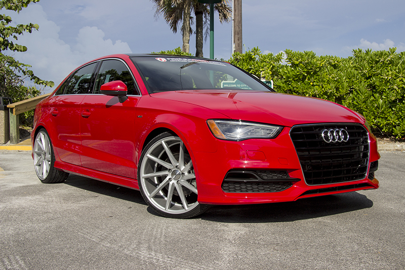 audi a3 on cvt vossen wheels � advanced automotive accessories