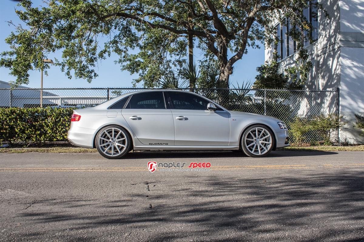 Audi A4 with 20″ Vossen VFS1 Wheels – Advanced Automotive Accessories