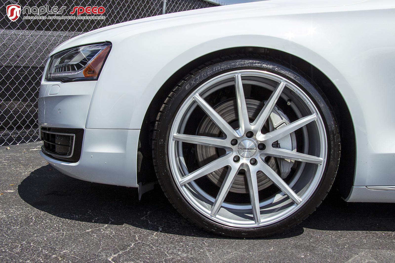 Audi A8 L On 22 Vossen Vfs1 Advanced Automotive Accessories