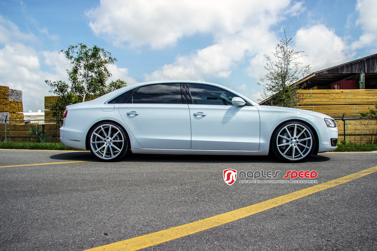 Audi A8 L On 22 Vossen Vfs1 Advanced Automotive Accessories