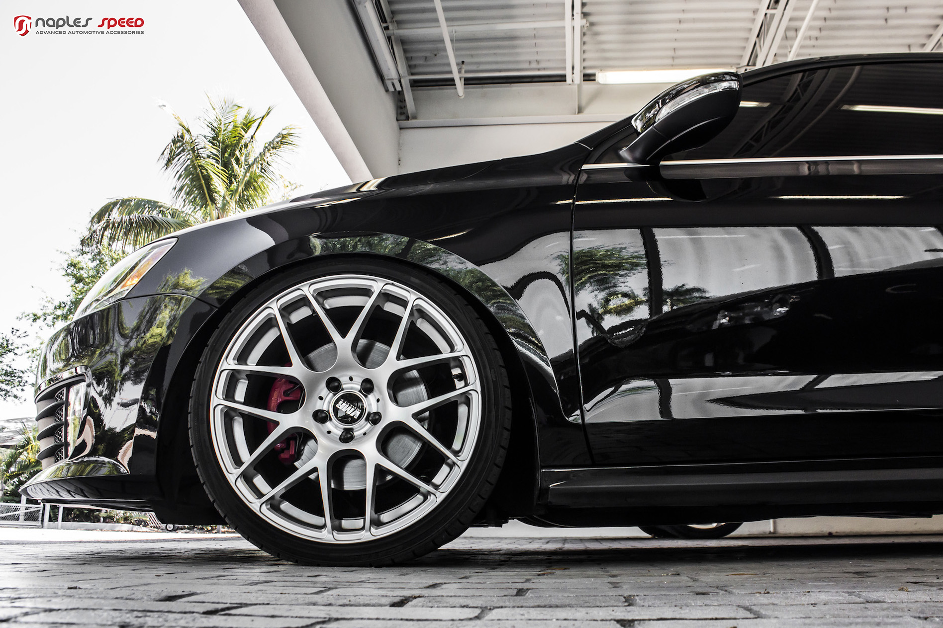 2014 Volkswagen Gli On Vmr 710 Wheels Advanced