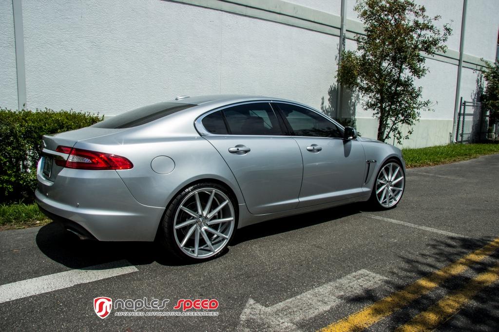 Jaguar Xf On 22 Vossen Cvt Advanced Automotive Accessories