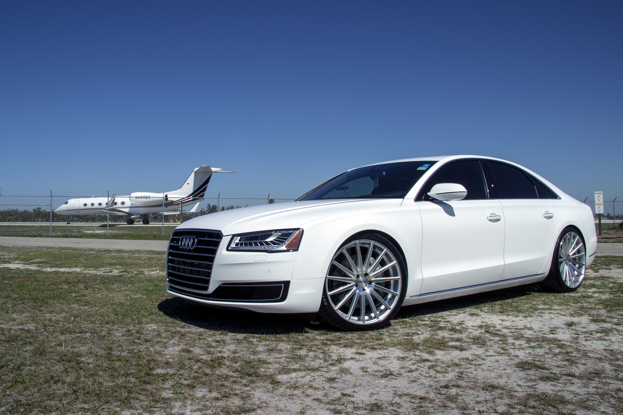 A8 On 22 Vossen Vfs2 Advanced Automotive Accessories