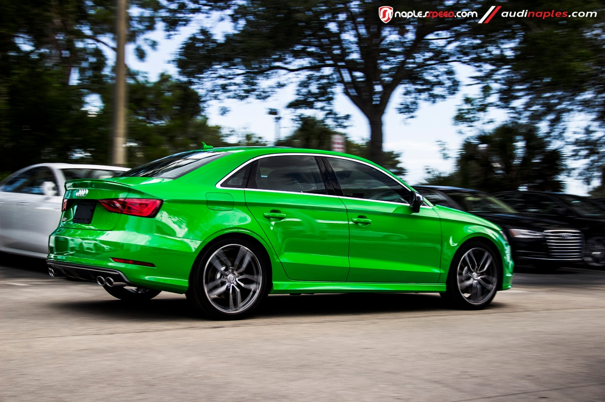 Exclusive Viper Green Audi S3 Advanced Automotive