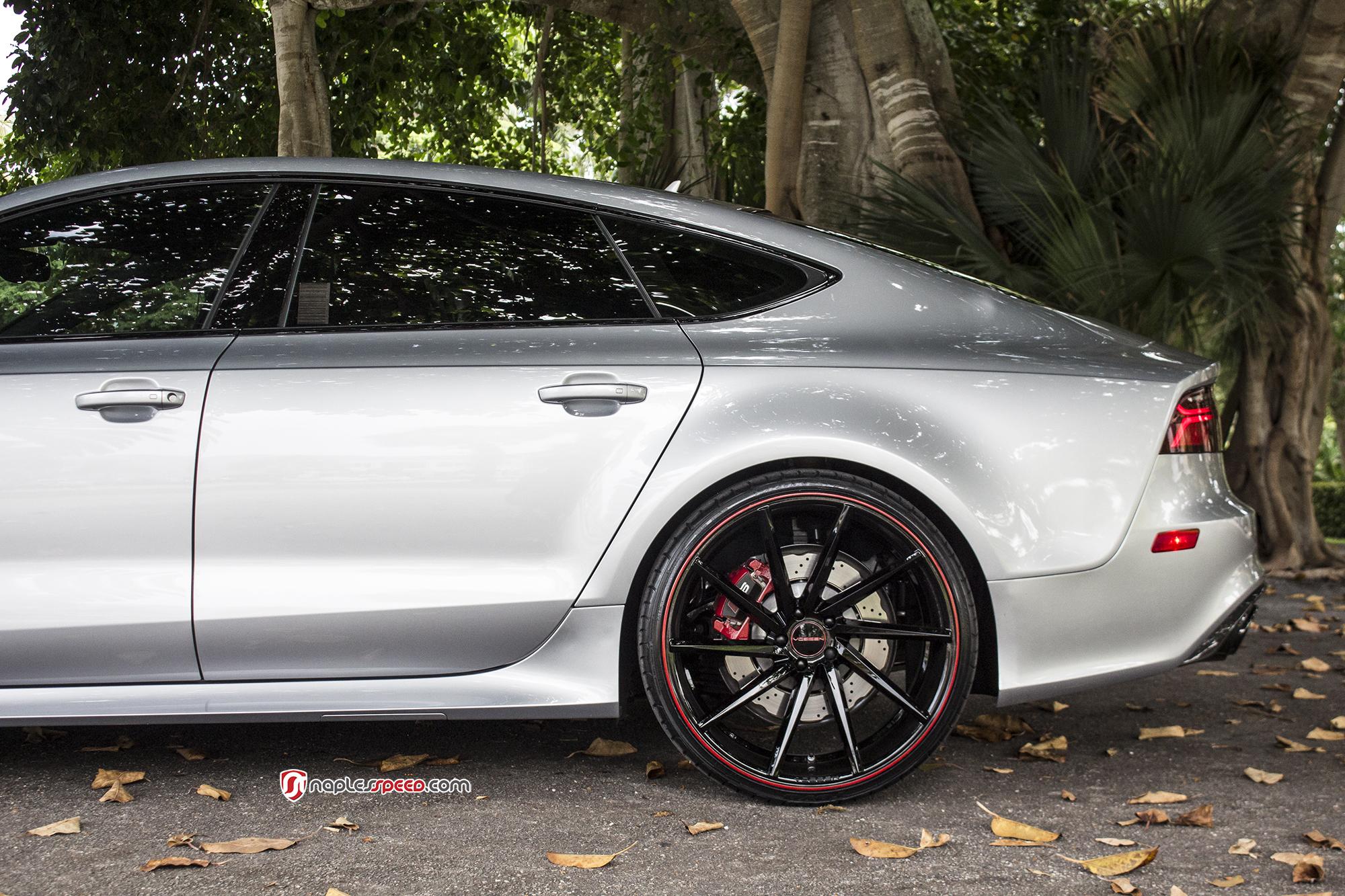 Audi Rs7 With Vossen Cvt 22 Wheels Advanced Automotive
