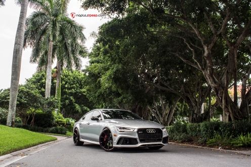 AudiRS7, RS7, Naples FL, Automotive Photography, VossenCVT, Lowered, Naples Speed
