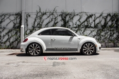 APR Downpipe, 3M Clear Bra, Red top coils, Downpipe with Eurojet Exhaust, APR Carbon Fiber Intake System, Stage 2+ K04 Turbo Upgrade, Lowered, Volkswagen, Vdub, Volkswagen Beetle