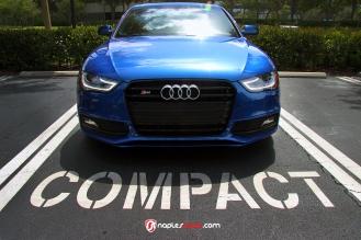 Audi S4, Black Optic, CVT Vossen wheels, H&R Coilovers, 2015 Audi S4, Naples FL, Performance Cars
