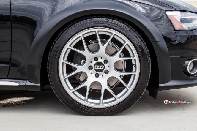 Audi Allroad on BBS wheels