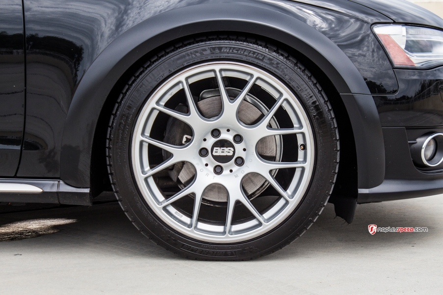 Audi Allroad on BBS wheels
