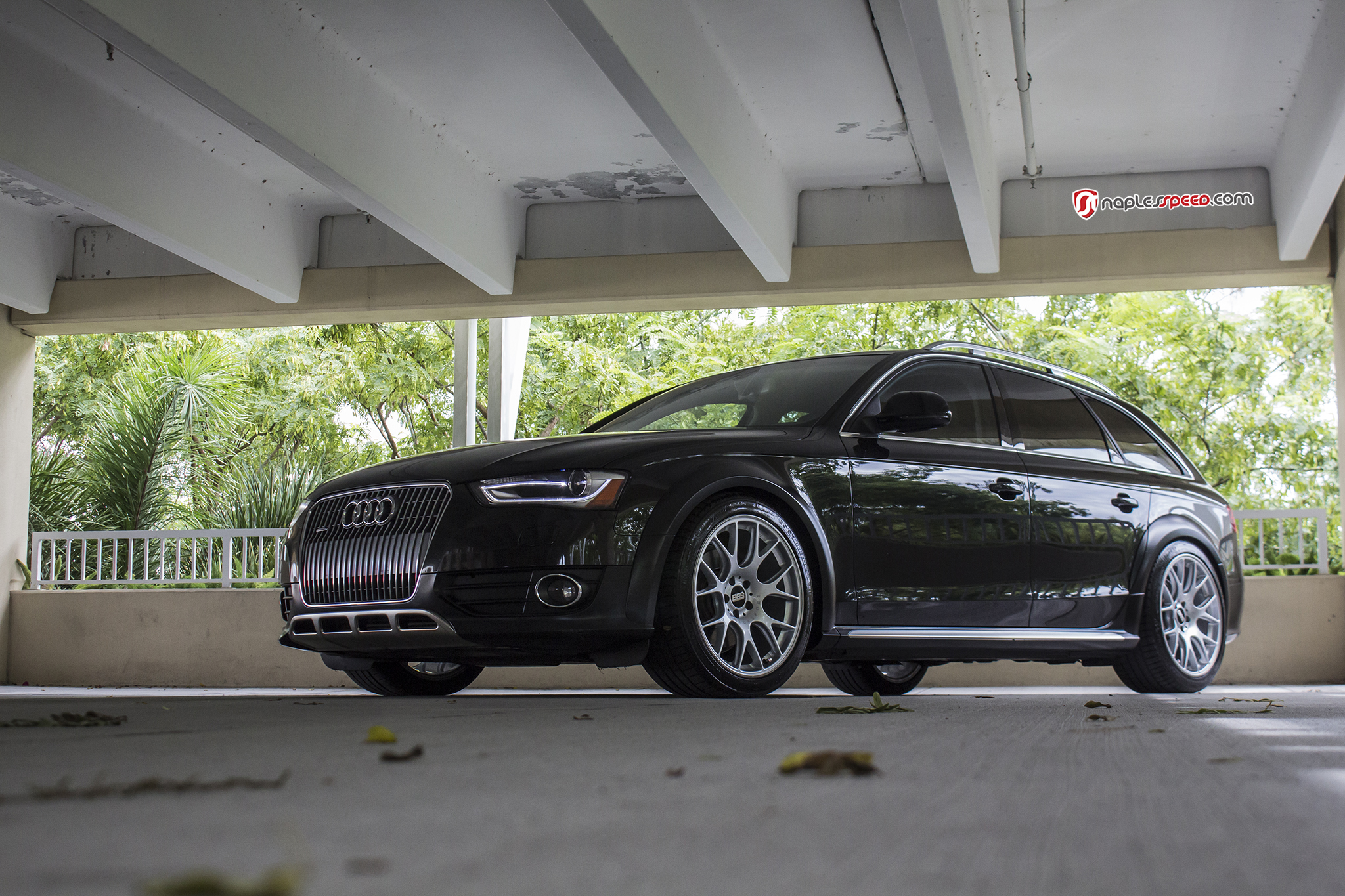 Audi Allroad with BBS wheels – Advanced Automotive Accessories