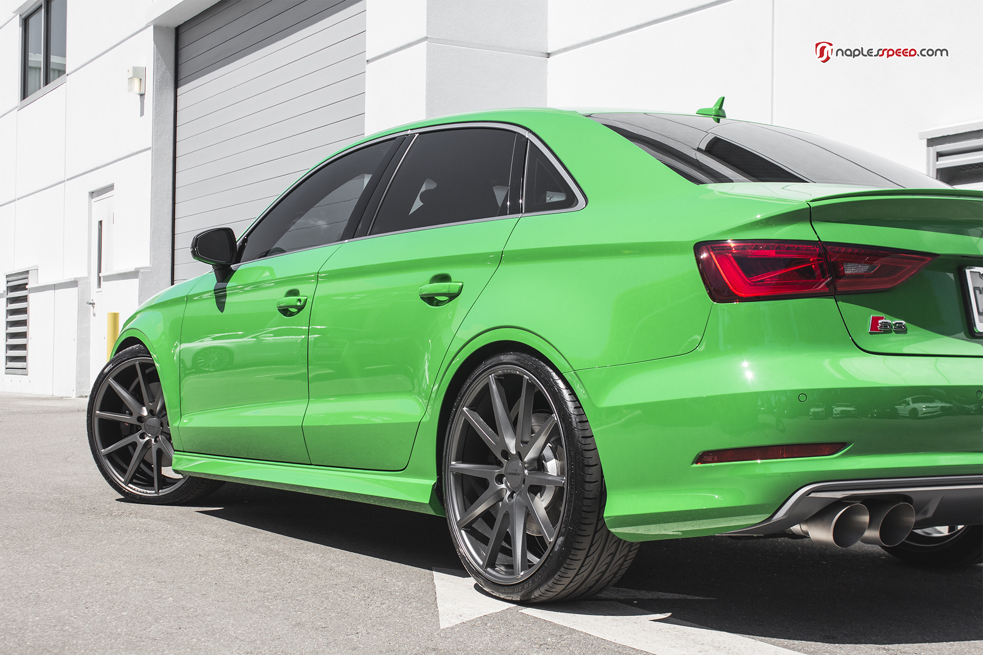 Exclusive Audi S3 Shot By Naples Speed Advanced