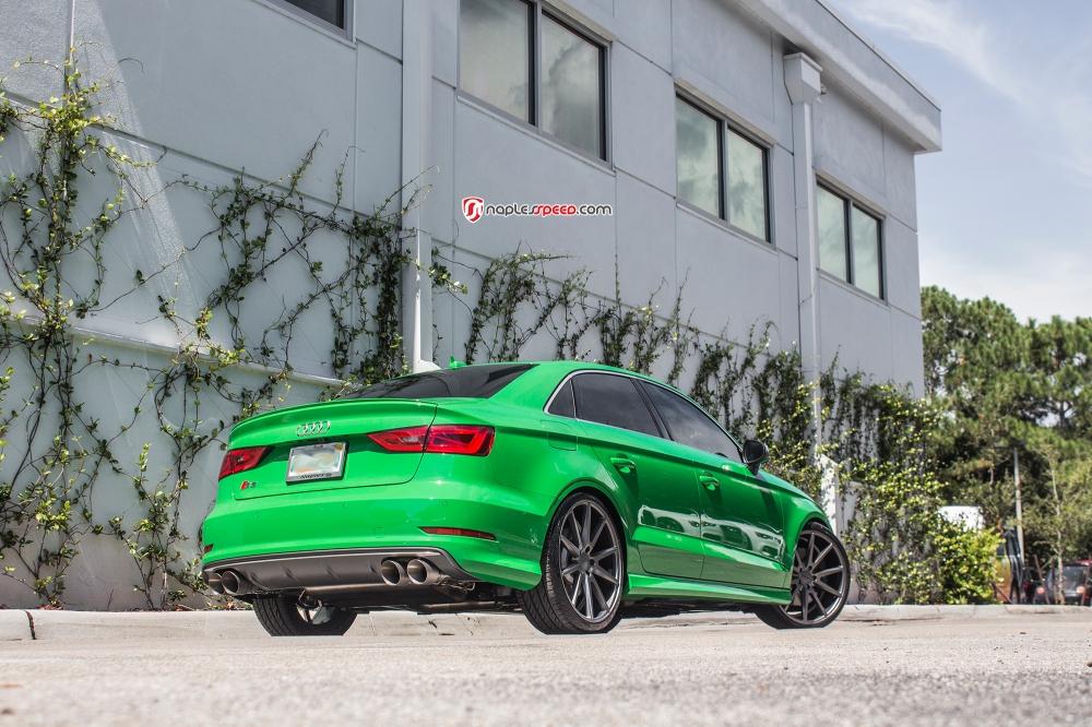 Exclusive Audi S3 shot