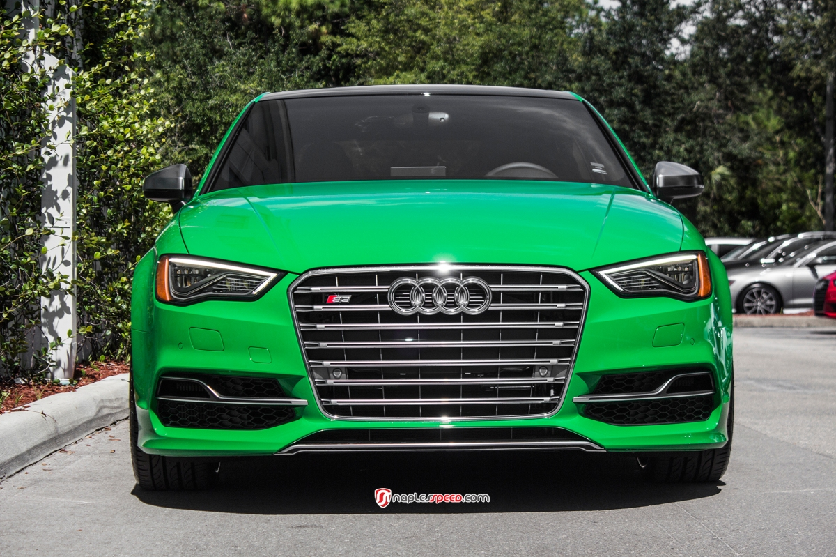 Audi Green Menu Mods