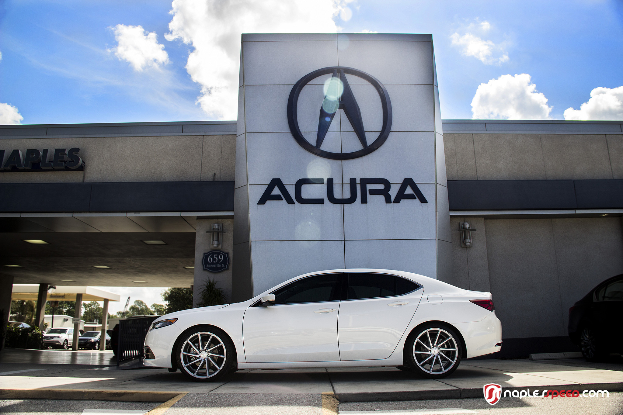 Acura TLX on Vossen CVT's – Advanced Automotive Accessories