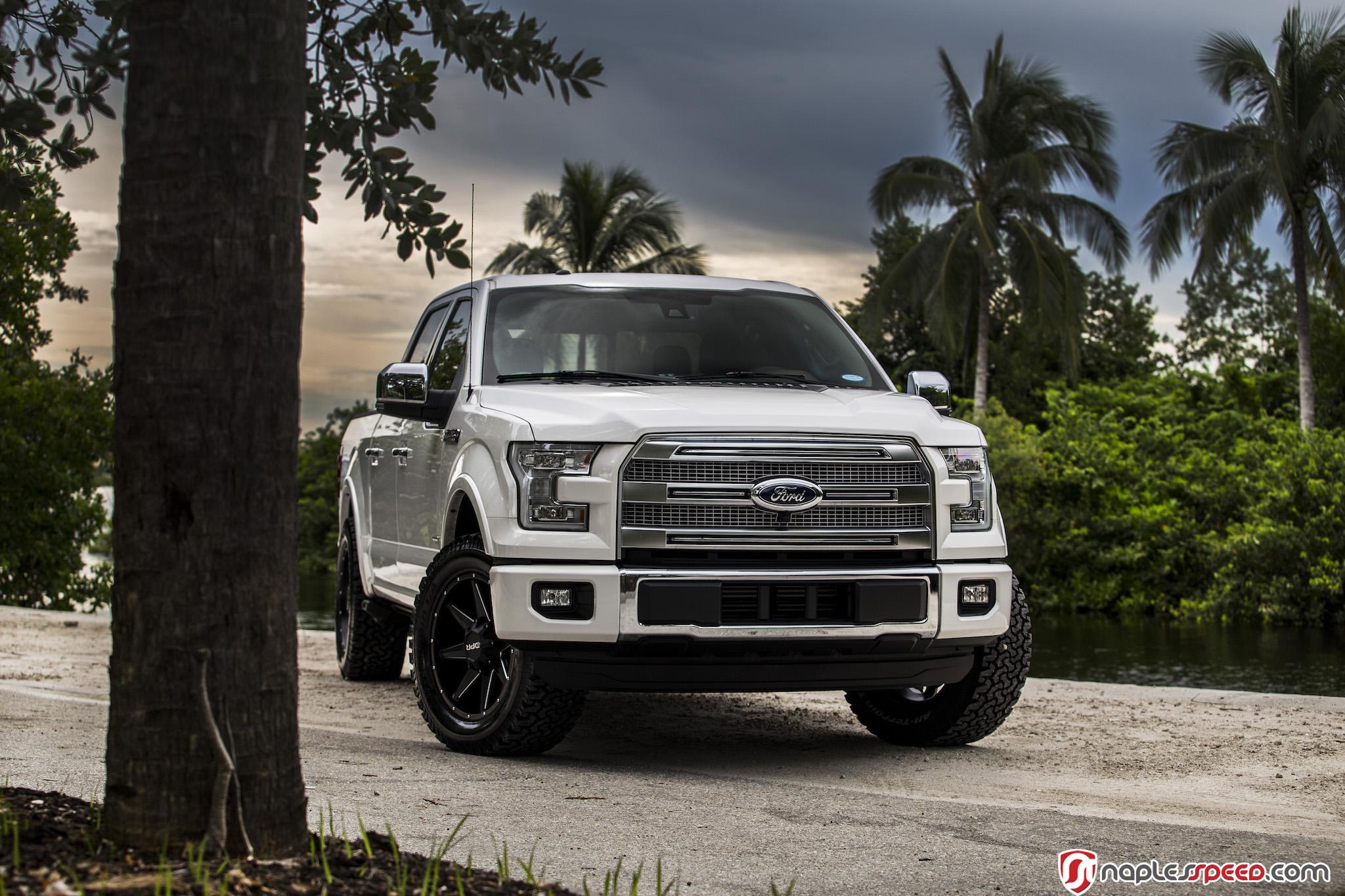 F150 Platinum Leveled