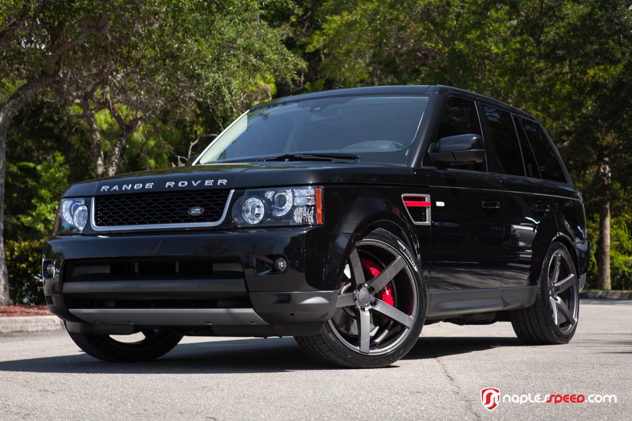 Range Rover Sport Joins TeamVossen – Advanced Automotive Accessories