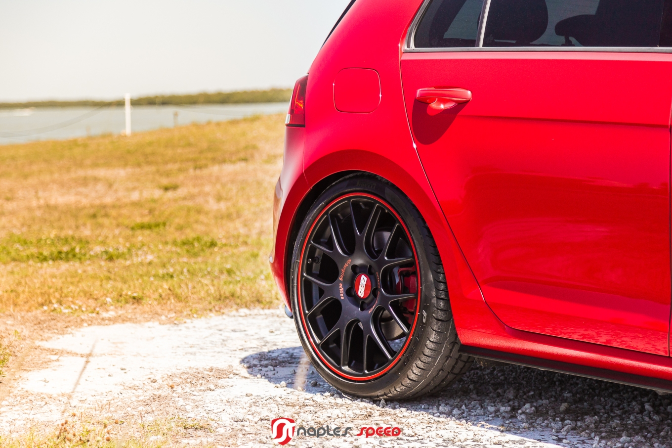 One Special Ride Vw Gti On Bbs Ch R N 252 Rburgring Edition Advanced Automotive Accessories