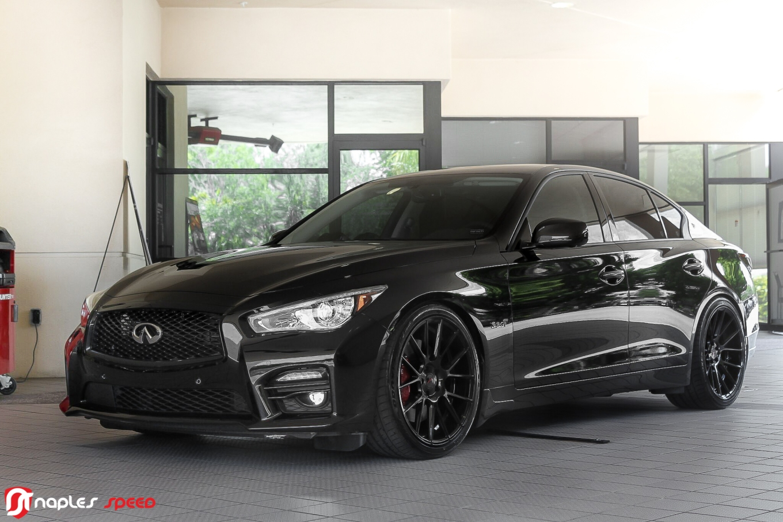 Project G O T H A M Infiniti Q50s On Xo Luxury Xf1