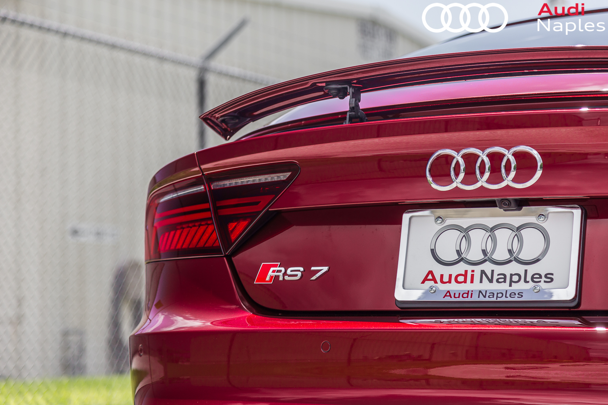 audi exclusive 2017 rs7 in rubino red advanced automotive