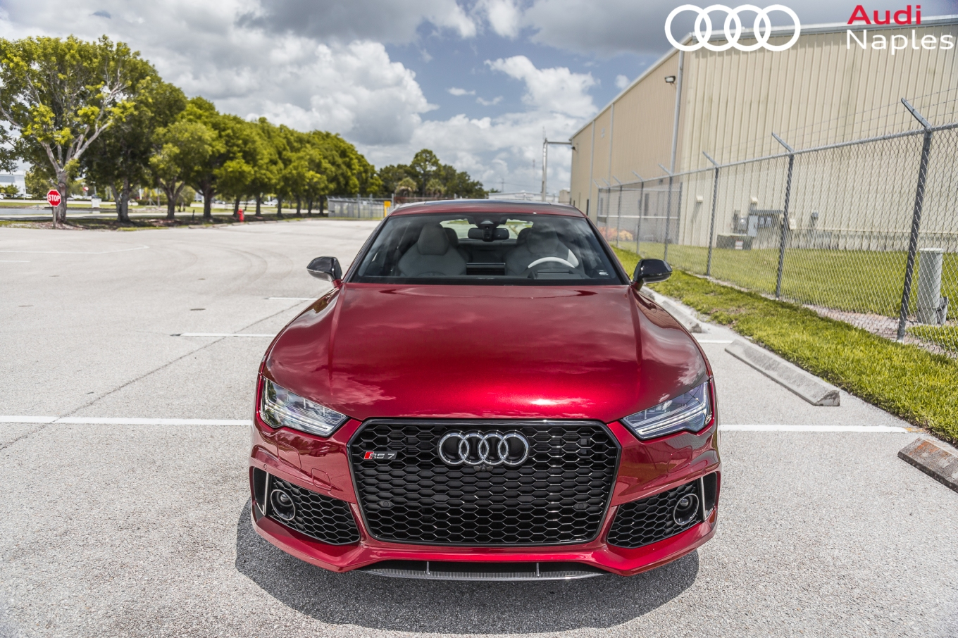 Audi Exclusive RS In Rubino Red Advanced Automotive Accessories - Audi naples