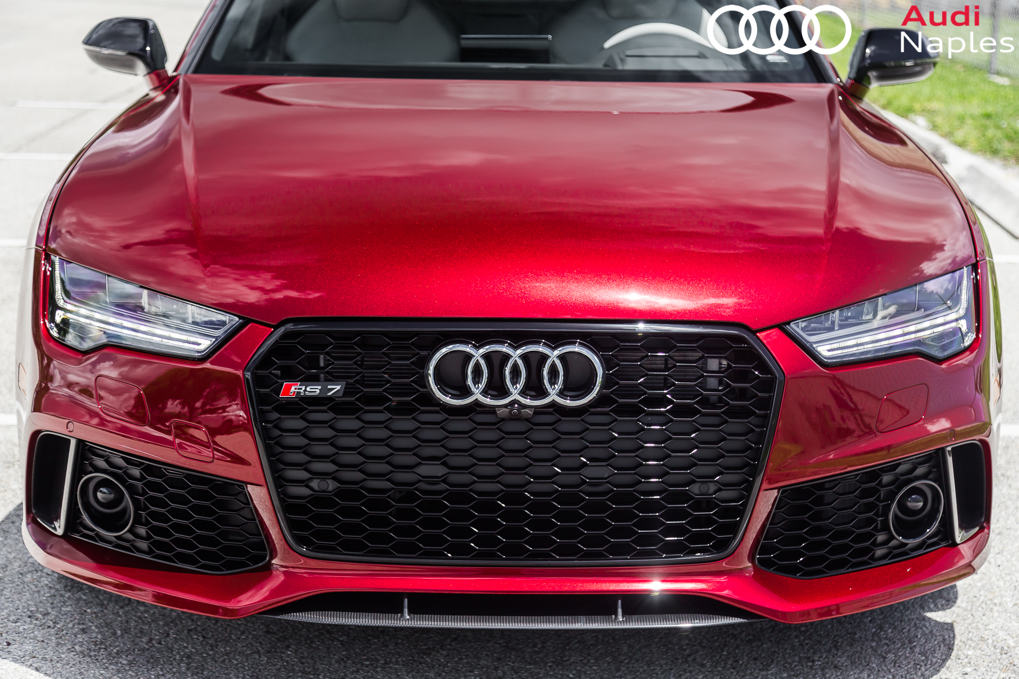 Audi Exclusive 2017 Rs7 In Rubino Red Advanced
