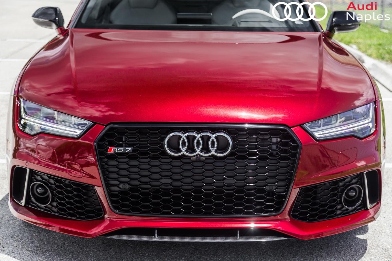 Audi Exclusive: 2017 RS7 in Rubino Red – Advanced ...