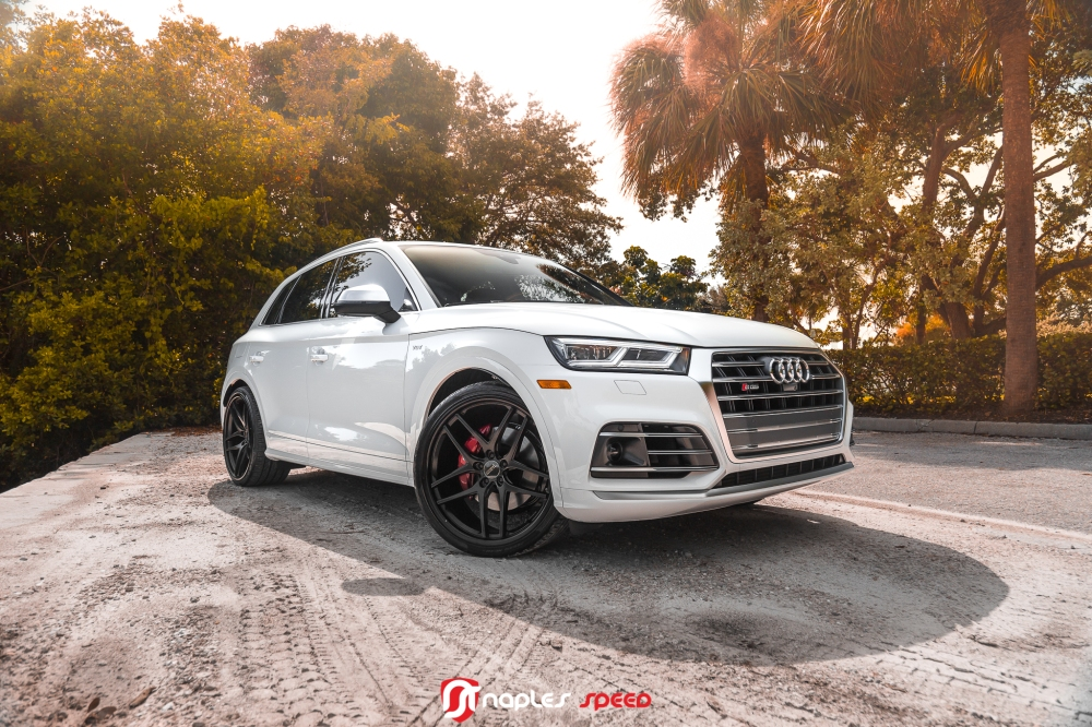 S before Q5 // 2018 SQ5 on Savini Black Di Forza – Advanced